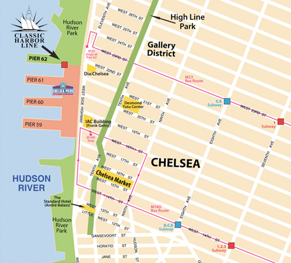 map-chelsea - Clic Harbor Line on
