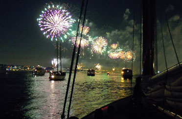 Fourth of July Cruise aboard Yacht Manhattan