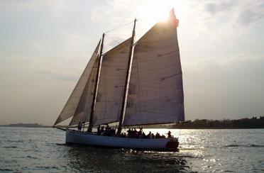 Full Moon Sail aboard Schooner Adirondack