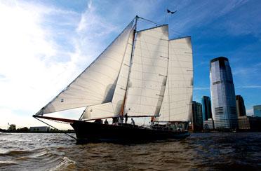Full Moon Sail aboard Schooner America 2.0