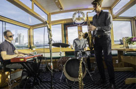Live Jazz Cruise on yacht Manhattan II in NY Harbor