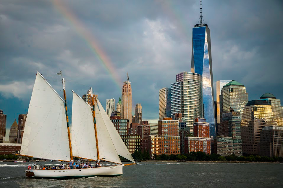 Sightseeing Sail of NY Harbor on Schooner Adirondack | Classic Harbor Line
