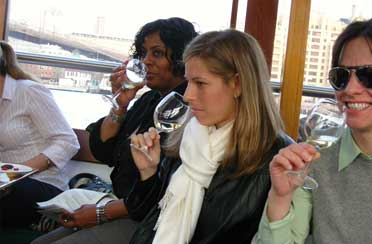 Wine Tastings aboard the Yacht Manhattan
