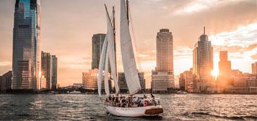 Romantic Sunset Sail NYC