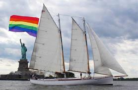 NYC PRIDE Fireworks Sail