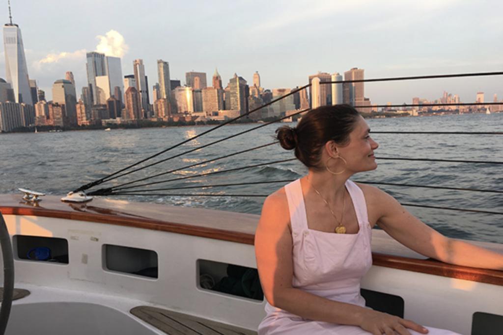 Schooner America 2.0 sailing