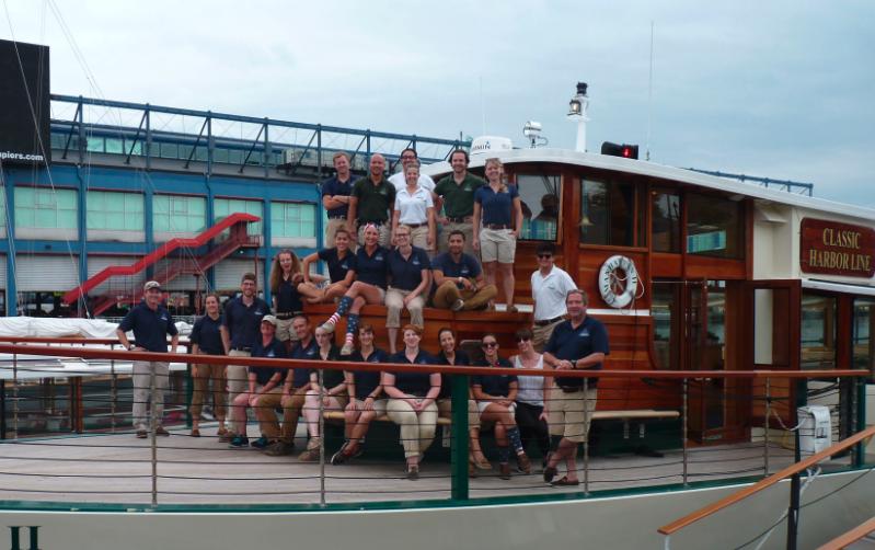 Classic Harbor Line Crew